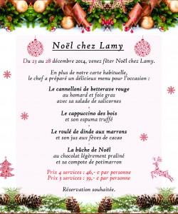 Lamy - Noël 2014